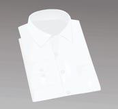 Biali upakowani mężczyzna koszulowi Zdjęcia Royalty Free