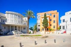 Bialik Square, Tel-Aviv Stock Photography
