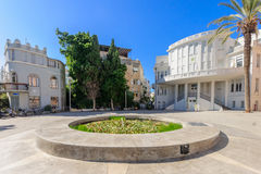 Bialik Square, Tel-Aviv Royalty Free Stock Images