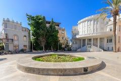 Bialik Square, Tel-Aviv Royalty Free Stock Images