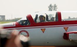 Bialo-Czerwone Iskry - Radom Airshow - la Polonia Fotografia Stock