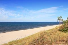Bialogora beach, Poland Stock Photo