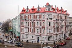 Bialystok在波兰 库存图片