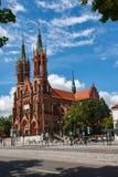 Bialystok, Πολωνία, στις 16 Ιουλίου 2016: Ο ιστορικός καθεδρικός ναός Στοκ εικόνα με δικαίωμα ελεύθερης χρήσης