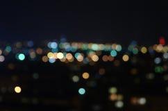 Bialystok em a noite Fotos de Stock