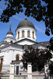 Bialystok, Poland. City architecture. Podlaskie province. Orthodox cathedral of Saint Nicholas Royalty Free Stock Photo