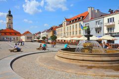 Bialystok, Poland Stock Photography