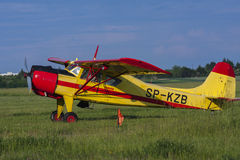 Bialystok , Poland , June 4, 2016: Old sports plane Stock Photography