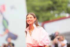 Bianca Balti walks the red carpet
