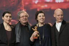 Bianca Oana, Philippe Avril, Adina Pintilie och Tomas Lemarquis royaltyfri foto
