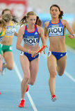 Bianca Razor and Roxana Ene of Romania Stock Image