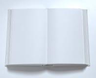 Bianco in bianco della copertina di libro Immagine Stock