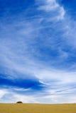 bianco blu del cielo della nube Immagine Stock Libera da Diritti