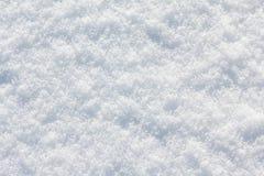 Bianco del fondo della neve nel giorno di inverno La stagione di freddo, struttura l'estratto fotografie stock libere da diritti
