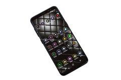 Bianco del pver della galassia S8 di Samsung Immagini Stock Libere da Diritti