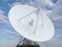 Bianco del radar Fotografia Stock Libera da Diritti