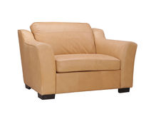bianco del sofà della rappresentazione 3d Fotografia Stock Libera da Diritti