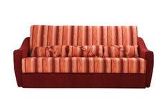 bianco del sofà della rappresentazione 3d Fotografie Stock