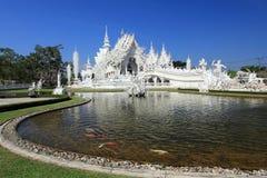 Bianco del tempio Immagini Stock