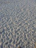 bianco della sabbia Fotografie Stock Libere da Diritti