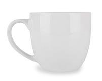Bianco della tazza Fotografia Stock Libera da Diritti