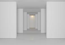 Bianco delle pareti Immagini Stock