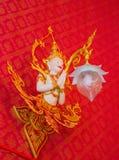 Bianco di Kinnaree Fotografia Stock