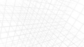 Bianco di struttura del contesto di griglia video d archivio