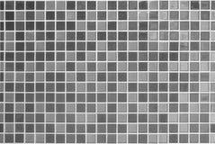 Bianco e grigio la foto o il mattone reale di alta risoluzione della parete delle mattonelle Immagini Stock Libere da Diritti