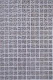 Bianco e grigio la foto o il mattone reale di alta risoluzione della parete delle mattonelle senza cuciture e fondo dell'interno  Immagini Stock Libere da Diritti