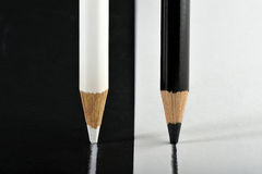 In bianco e nero immagini stock
