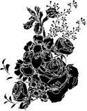 In bianco e nero   illustrazione vettoriale