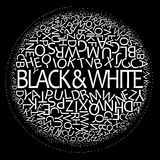 In bianco e nero Immagine Stock