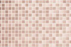 Bianco e scremi la foto reale di alta risoluzione della parete delle mattonelle o bric Fotografia Stock