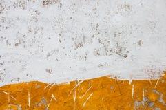 Bianco ed arancia del gesso di Lisbona Immagine Stock