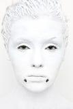 Bianco mega Fotografie Stock Libere da Diritti