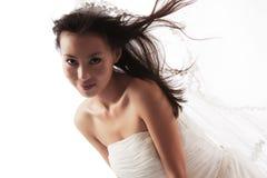 Bianco nuziale Immagini Stock