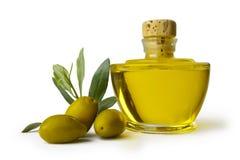 Bianco verde oliva del sfondo de la estafa de la ensaladilla de e Imagen de archivo libre de regalías