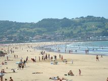 Biarritz stock fotografie