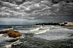 Biarritz lizenzfreies stockfoto