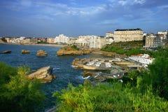 Biarritz Stock Image