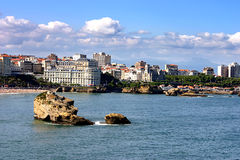 Biarritz Royalty Free Stock Photography