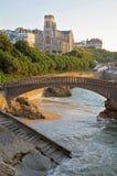 Biarritz Immagini Stock Libere da Diritti