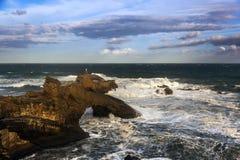 Biarritz Photographie stock libre de droits