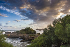 Biarritz Foto de Stock Royalty Free