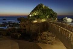 Biarritz Imagen de archivo libre de regalías