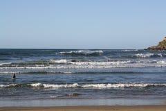 Biarritz Atlantic Ocean Arkivfoto