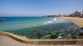 Biarritz bay Royalty Free Stock Photos