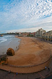 Biarritz beach Stock Photos