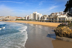 Biarritz beach Royalty Free Stock Photo